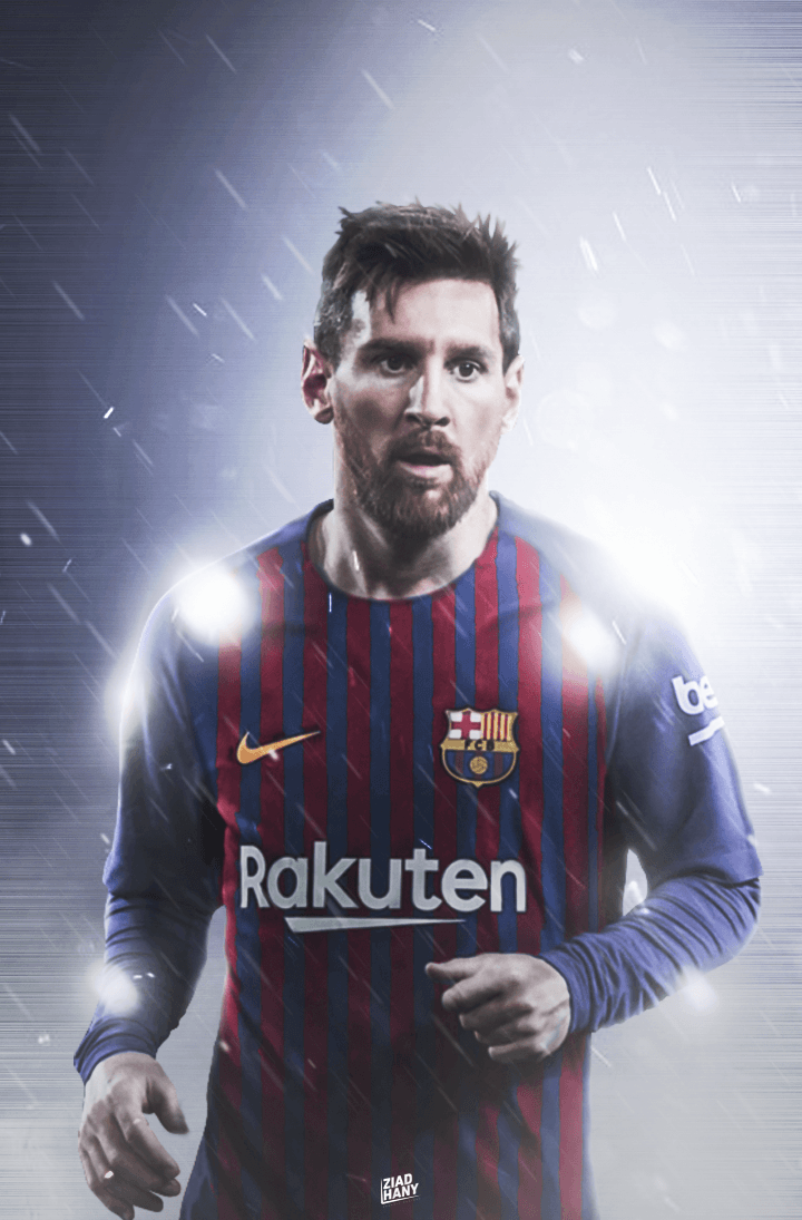 a211a95f551 Lionel Messi | FC Barcelona 2018/2019 Home kit by Ziadelprince22 on .