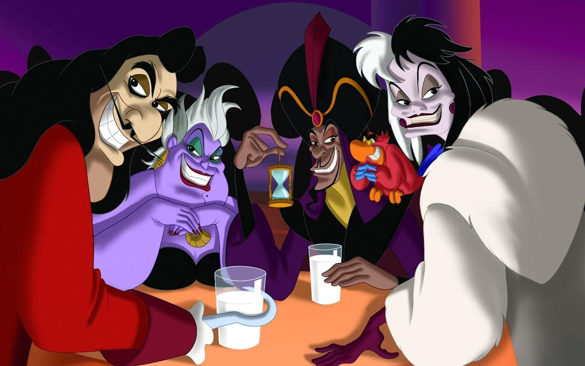 Disney Villains Wallpapers Wallpaper Cave