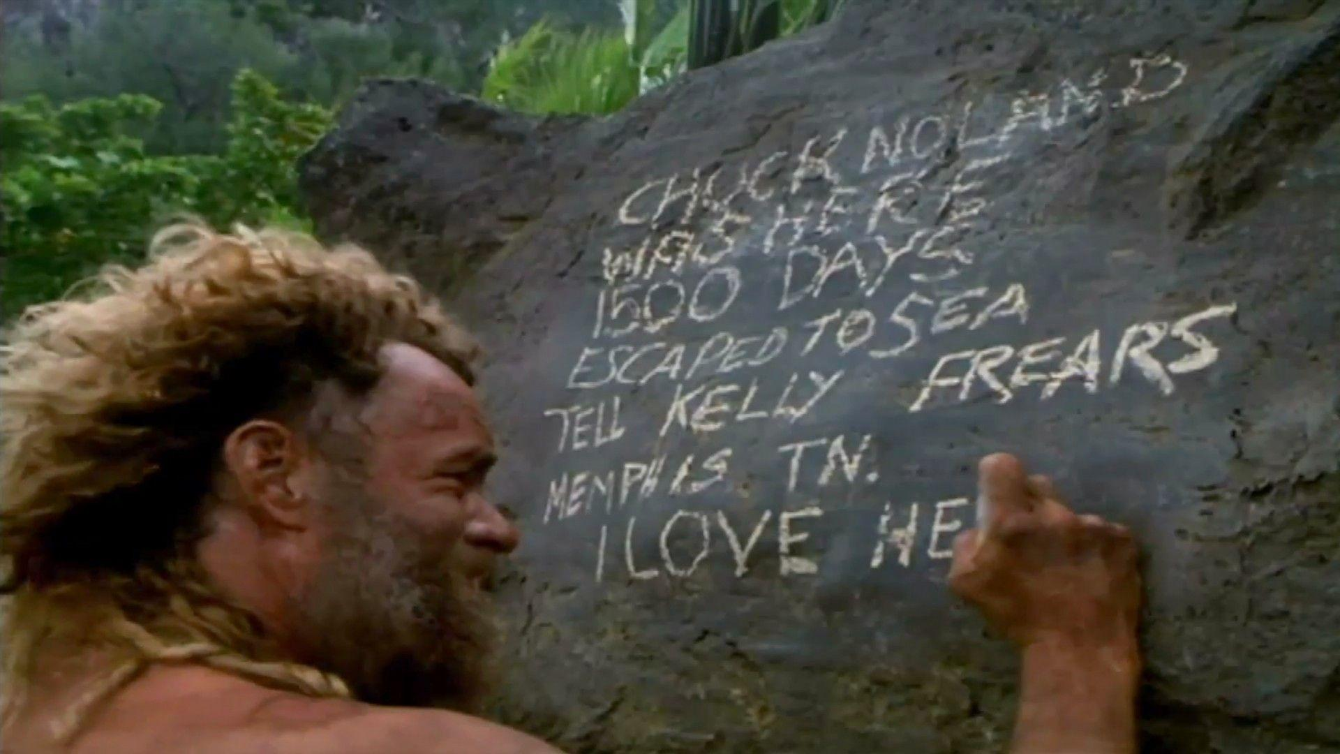 Tom Hanks Cast Away Quotes on QuotesTopics