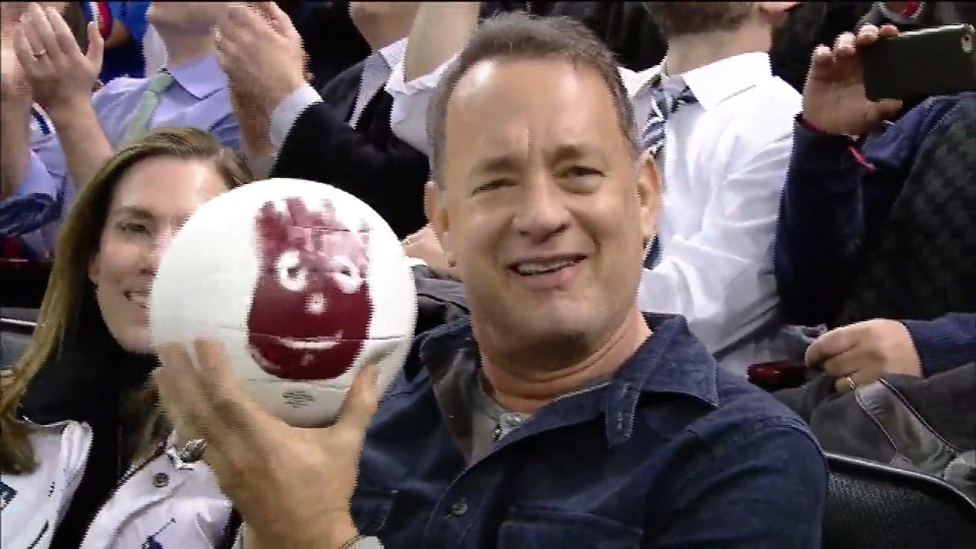 Tom Hanks reunites with his 'Cast Away' co