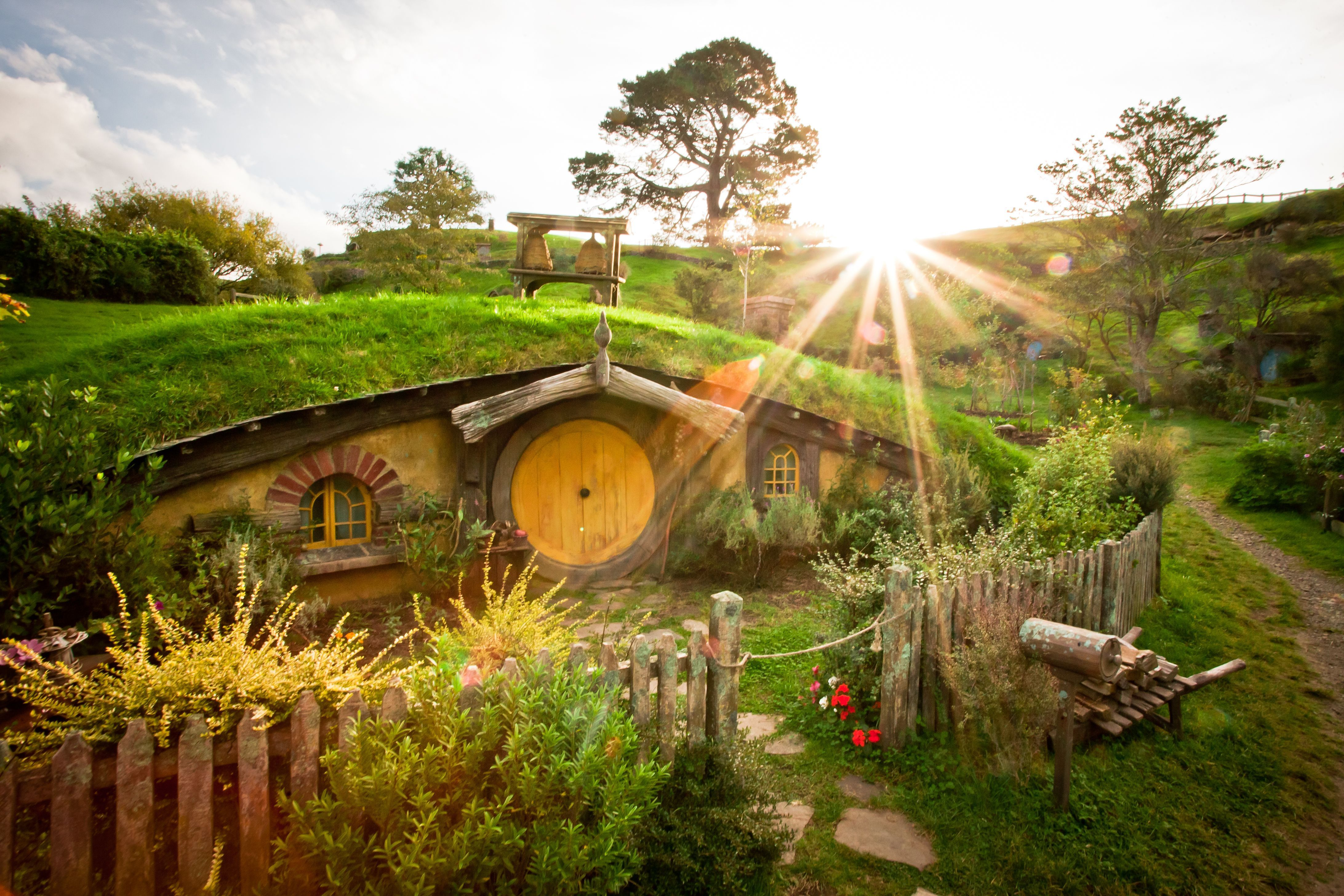 Home of Adventures, Hobbiton 4k Ultra HD Wallpapers