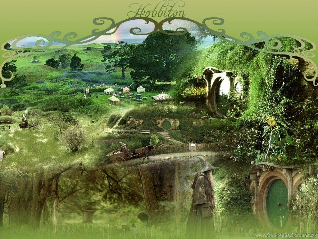 Hobbiton Lord Of The Rings Wallpapers