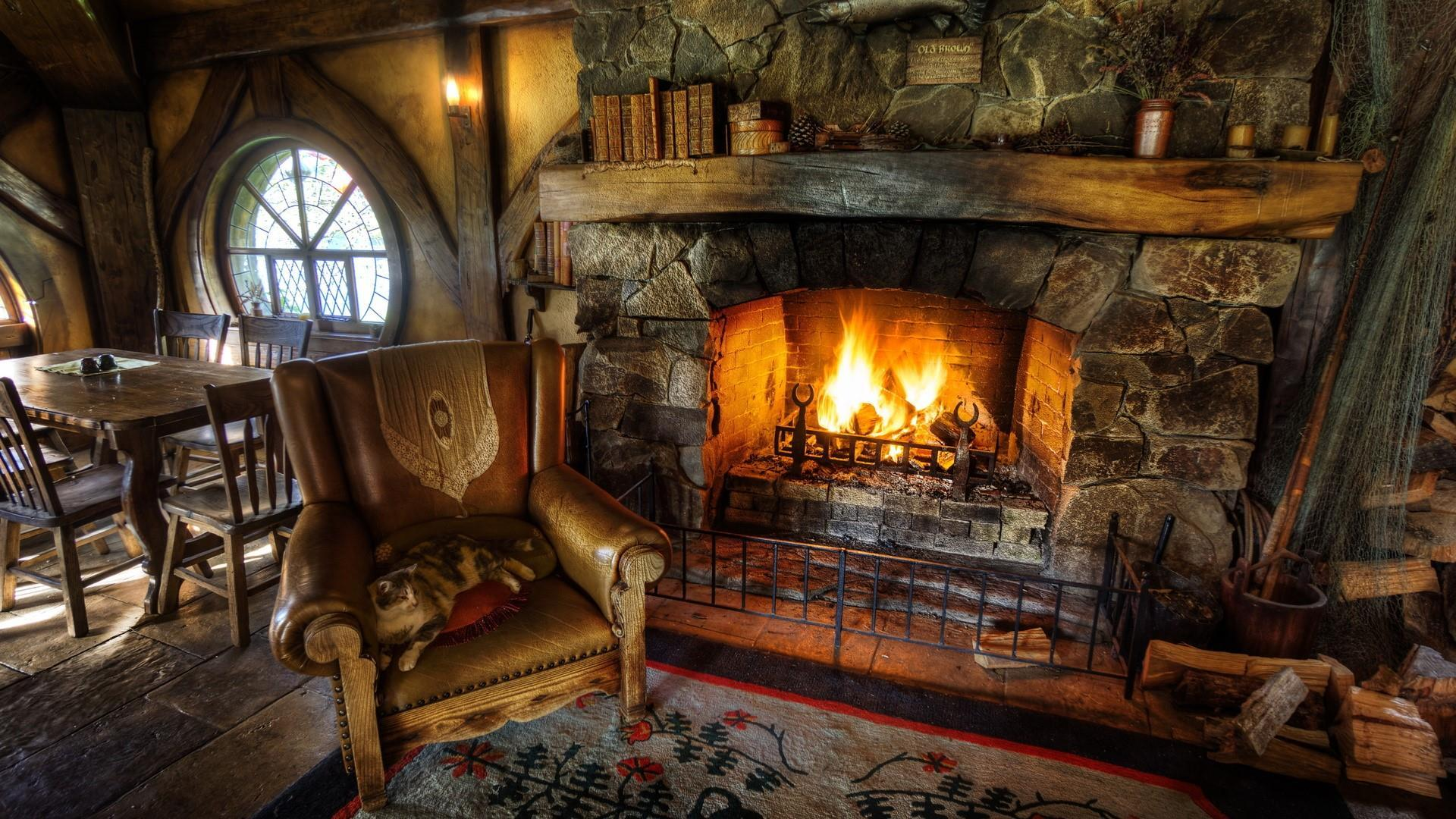 Inside The Green Dragon In Hobbiton Wallpapers
