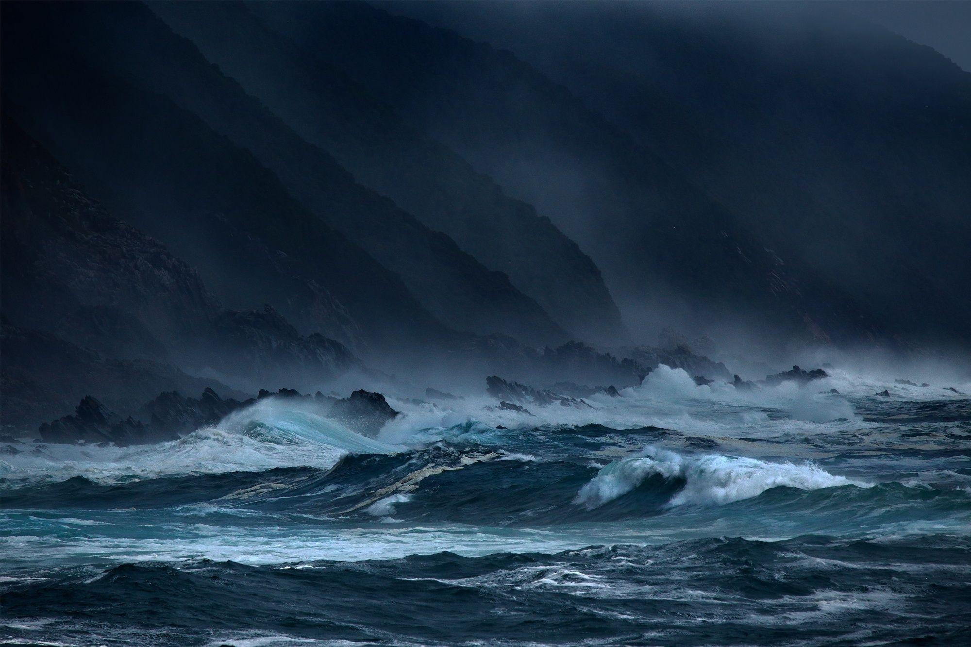 Ocean Storm Wallpapers Wallpaper Cave
