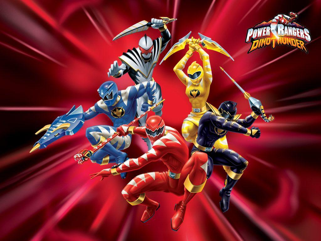 Power Rangers Dino Thunder Wallpapers Wallpaper Cave