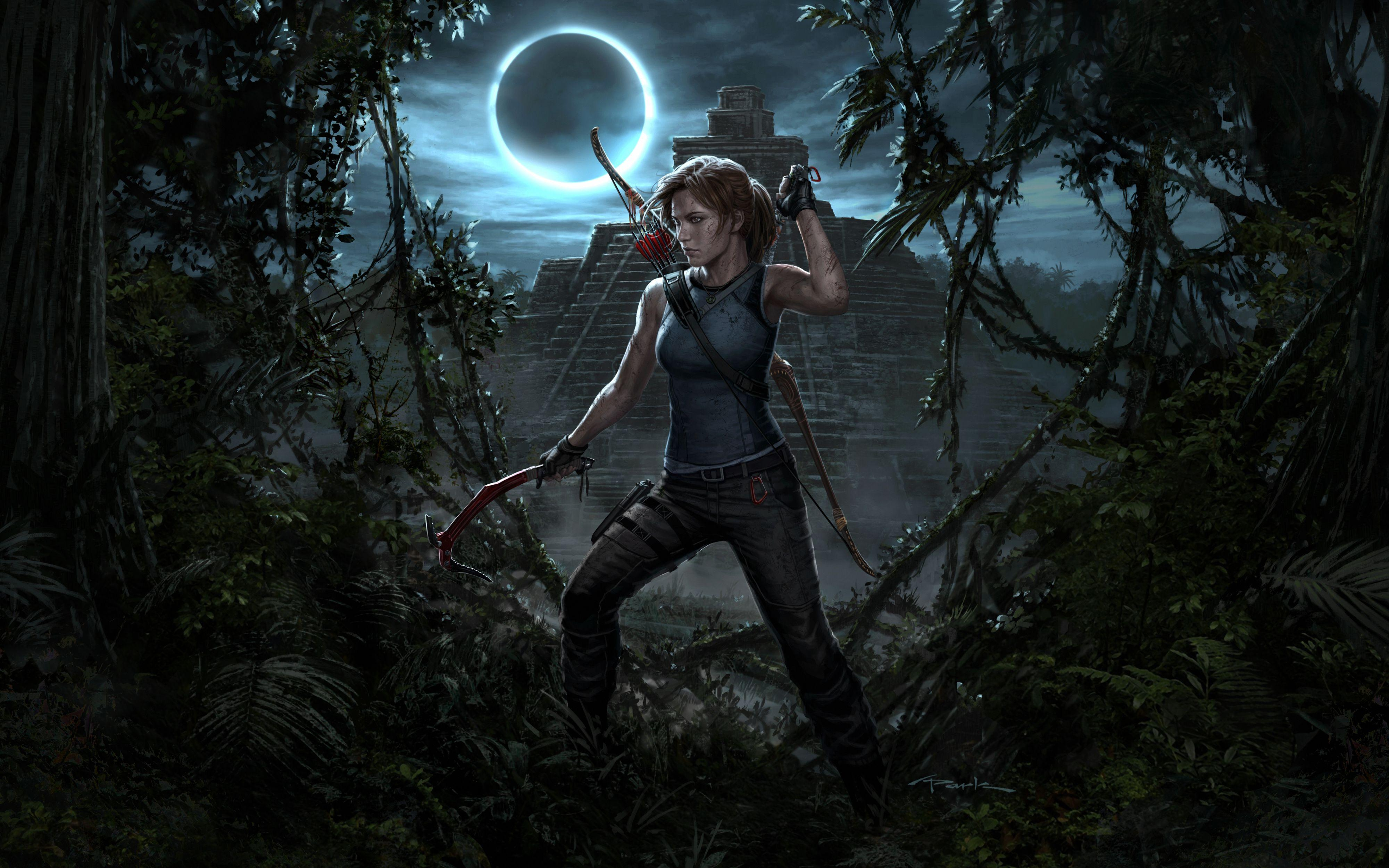 Shadow of the Tomb Raider Lara Croft Wallpapers