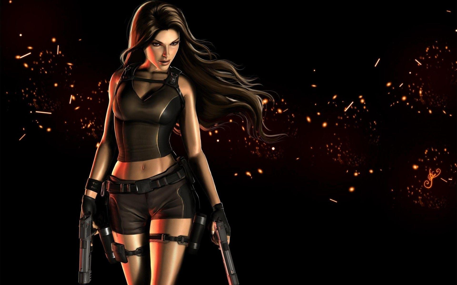 Lara Croft Tomb Raider Cool. Android wallpapers for free