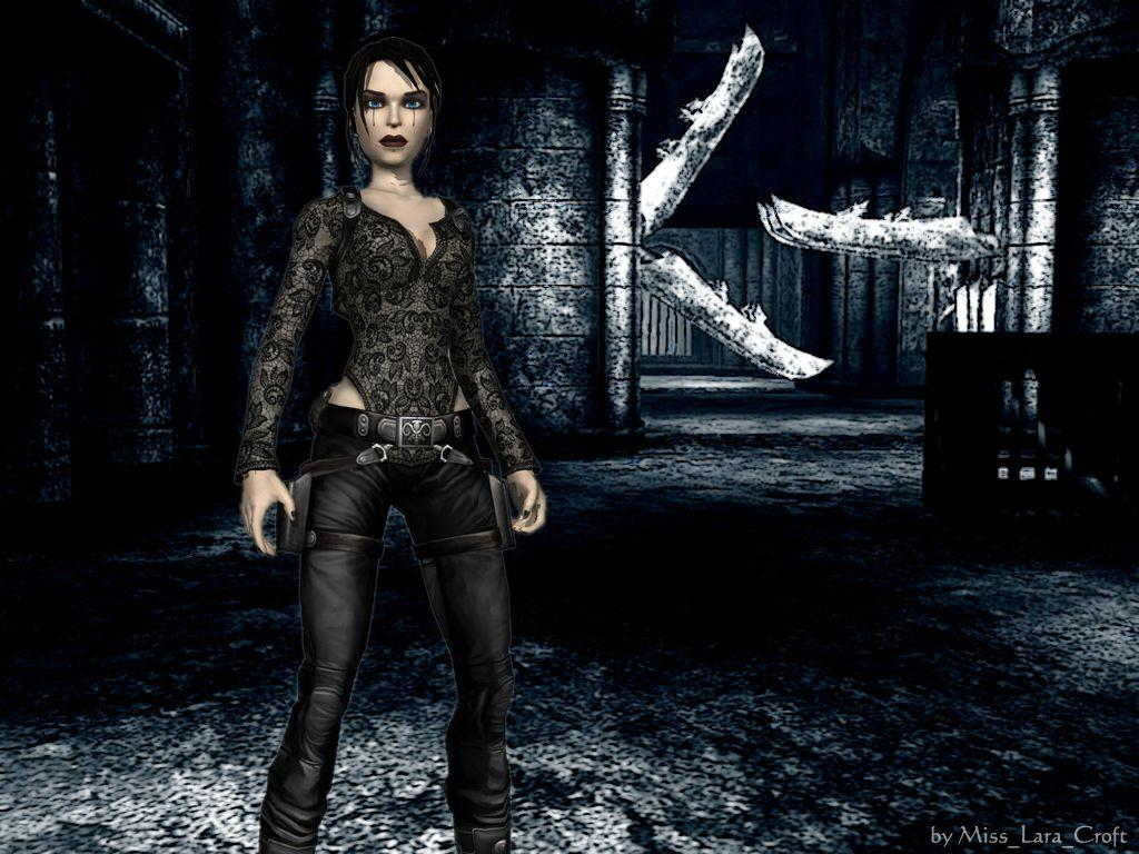 Gothic Lara Croft Wallpapers by TanyaCroft
