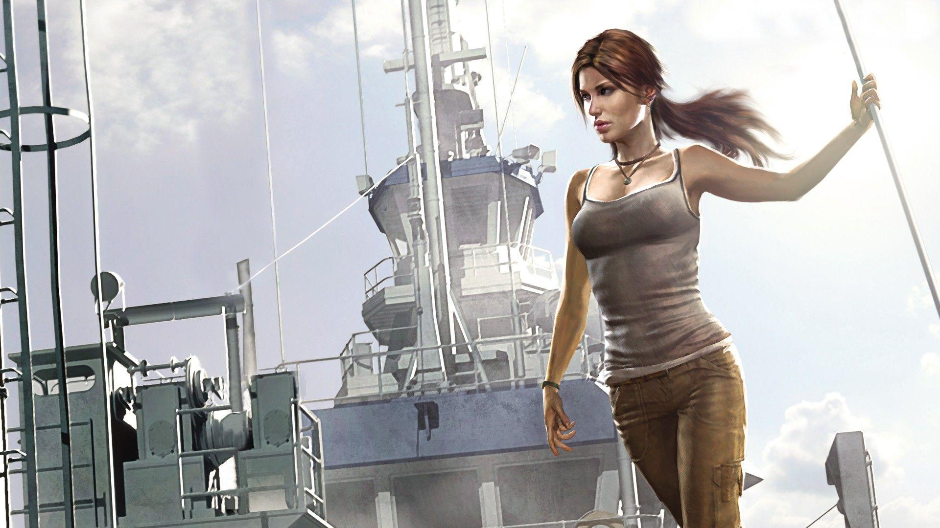 Full HD Quality Wallpapers: Lara Croft, 1920x1080 – download for free