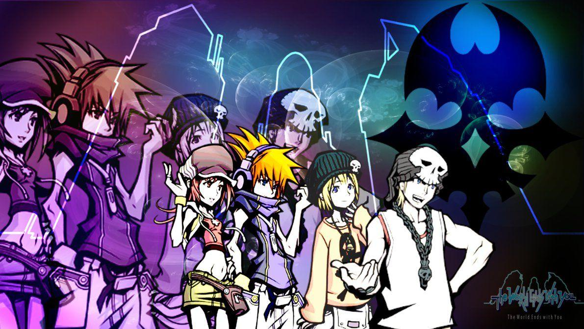 The World Ends With You Wallpapers Wallpaper Cave
