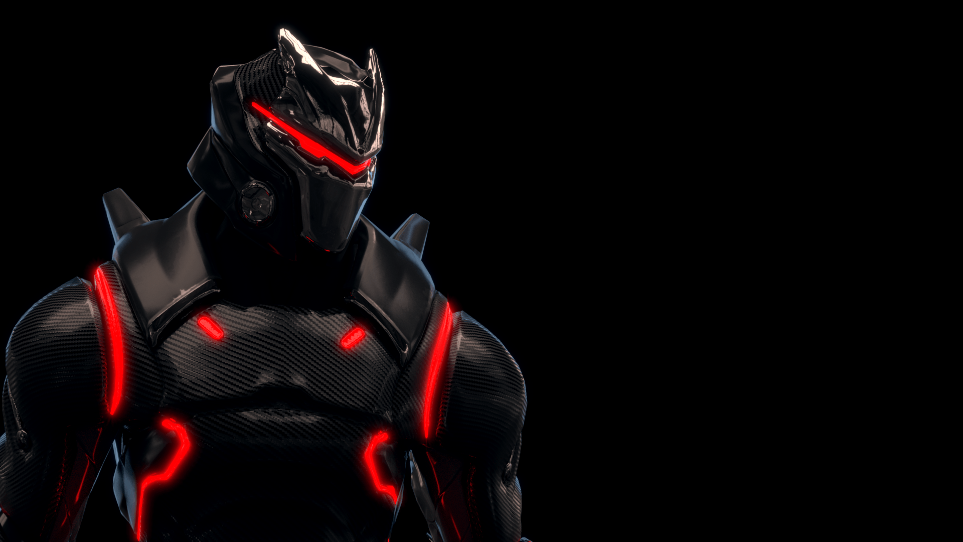 Made a wallpaper with the Omega! : FortNiteBR