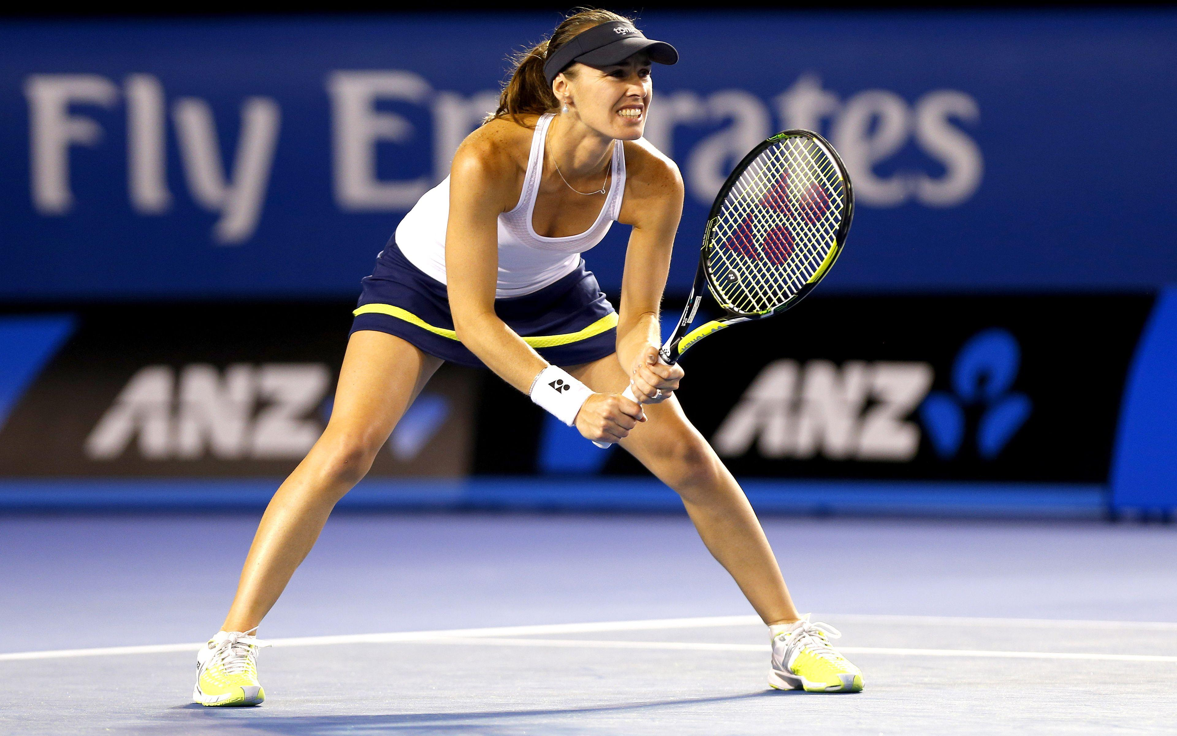 Download wallpapers Martina Hingis, 4k, WTA, match, tennis players
