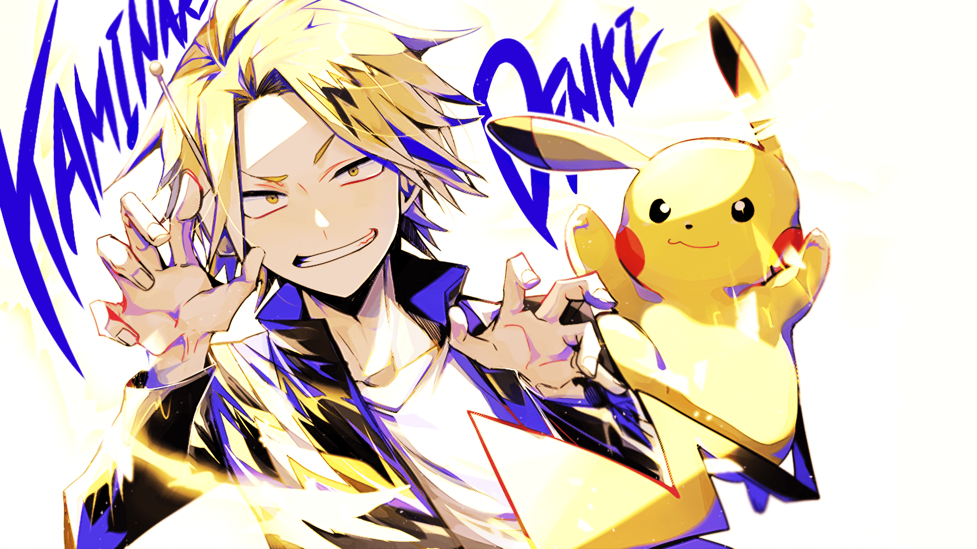 Denki Kaminari Wallpapers Wallpaper Cave