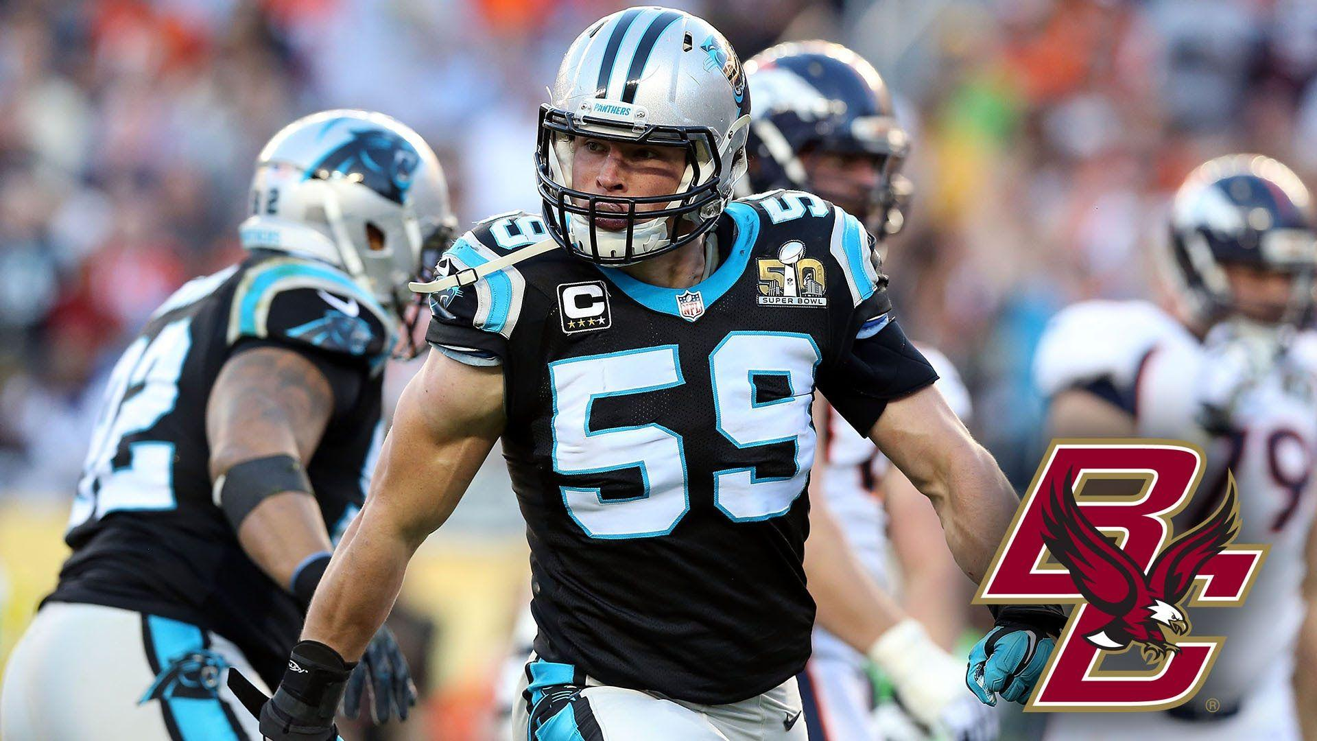Luke Kuechly Loves Fishing, Lets Panther Teammates Do The Dancing