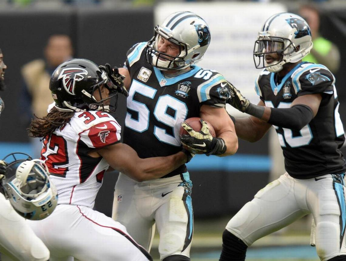 Luke Kuechly Panthers Pictures ~ Desktop Wallpapers Box