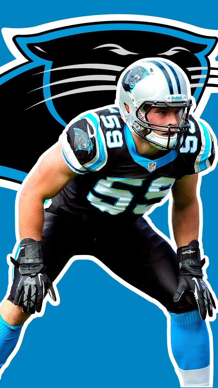 I made a Luke Kuechly mobile wallpaper, Let me know what you think