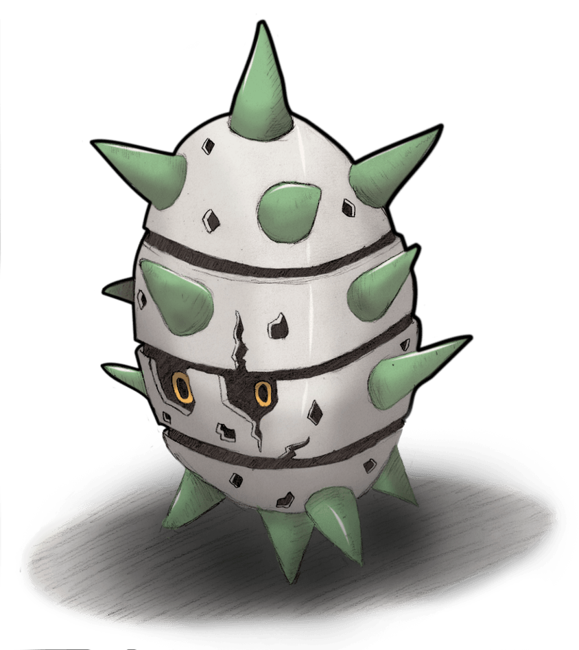 Spike the Ferroseed! by Seed