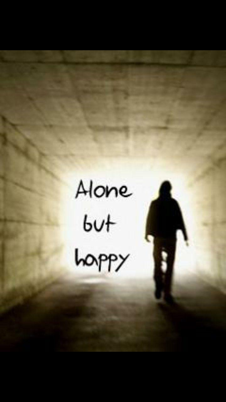 Alone But Happy Wallpapers Wallpaper Cave