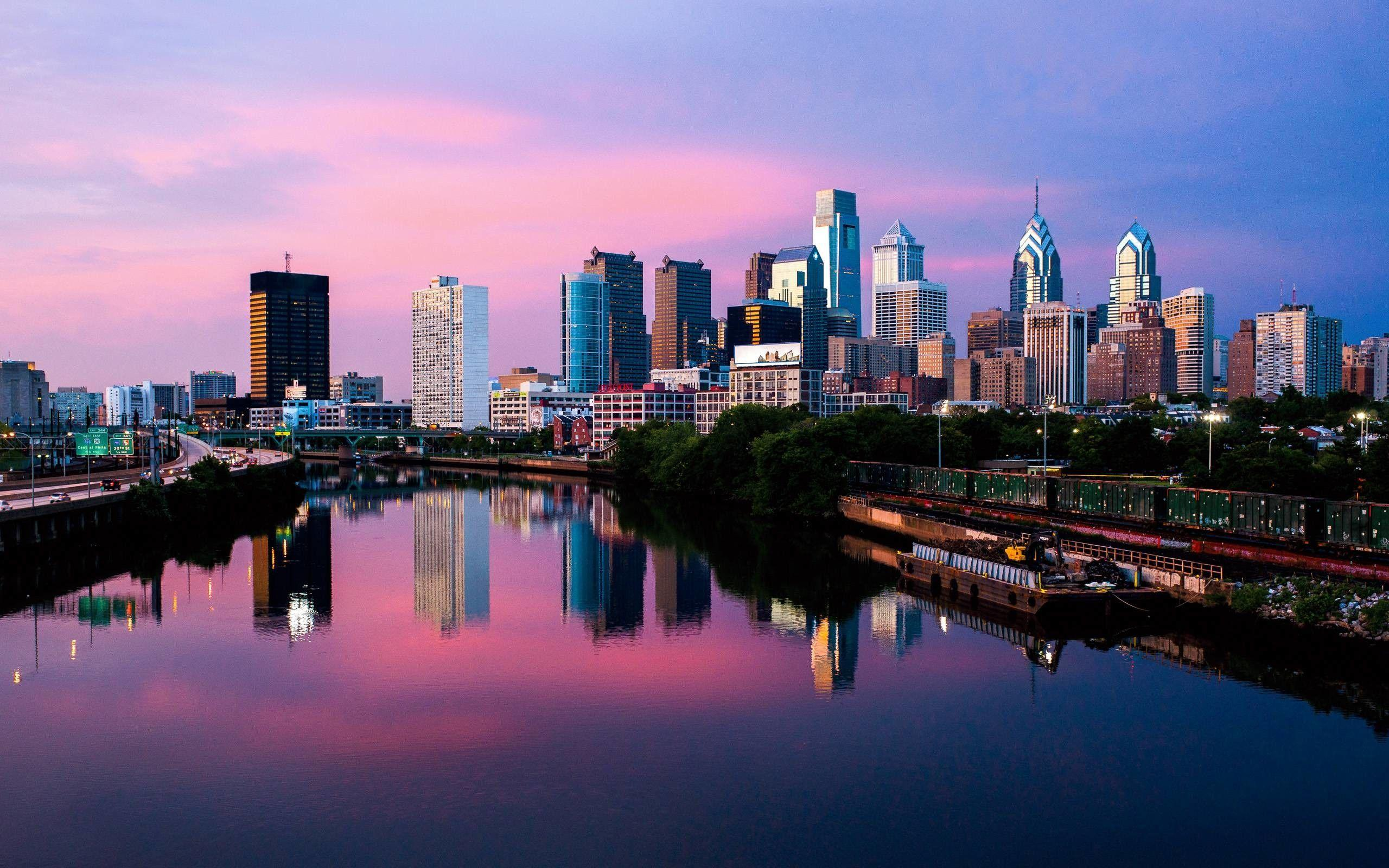Philadelphia Skyline Wallpapers
