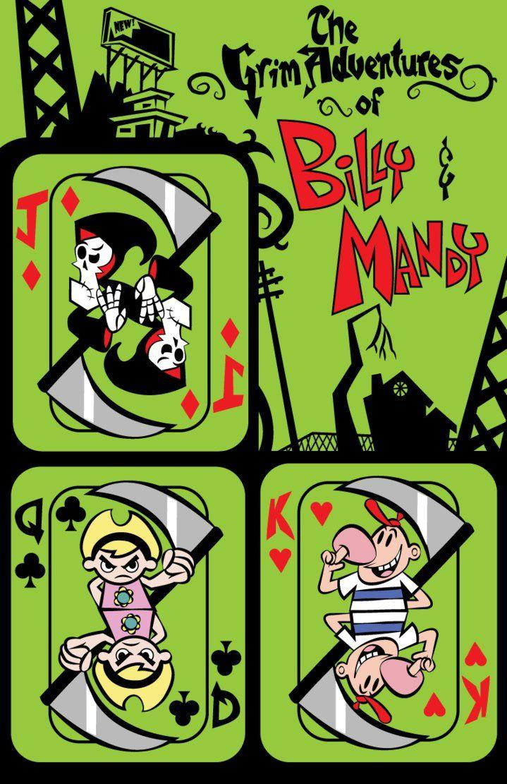 The Grim Adventures of Billy and Mandy Poster by CaptnPenguin on ...