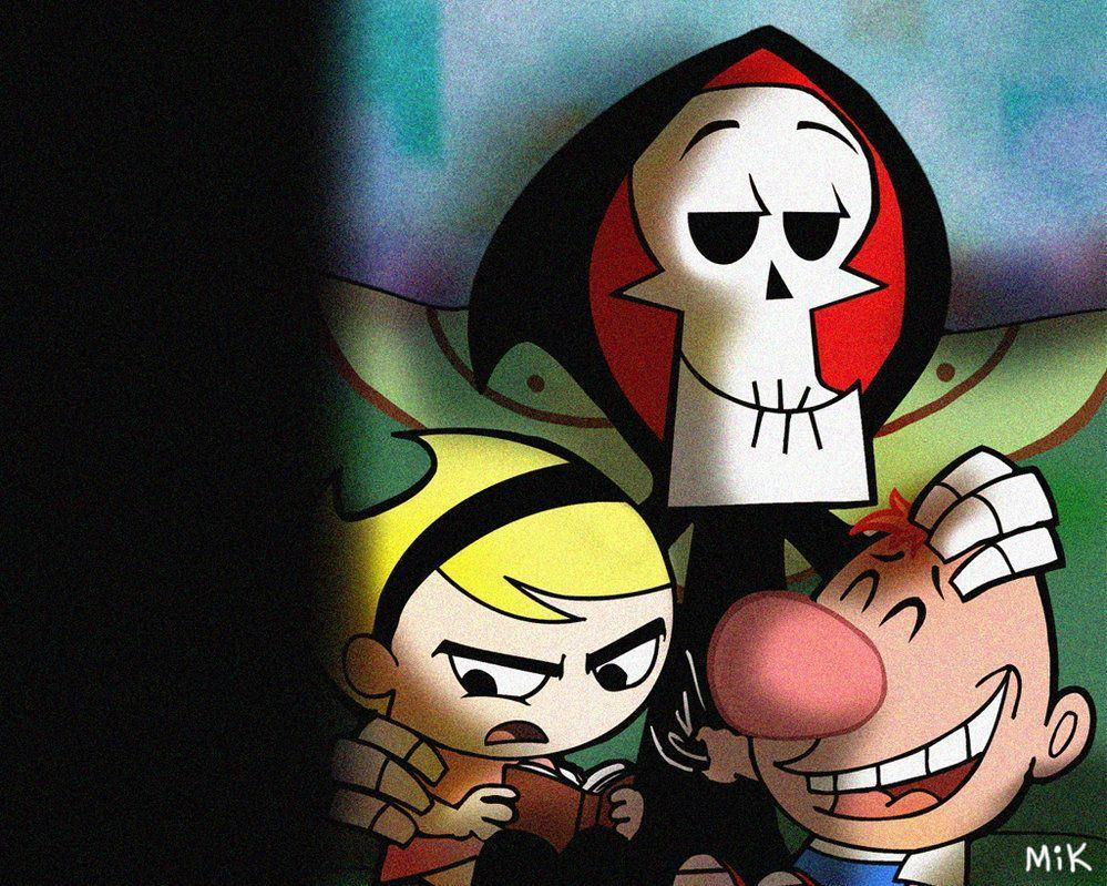 Grim wallpaper by mikmix | The Grim Adventures of Billy & Mandy ...