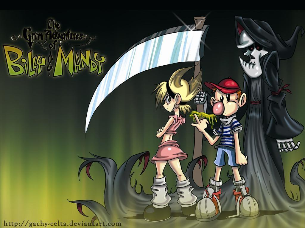 The Grim Adventures of Billy & Mandy Background 9