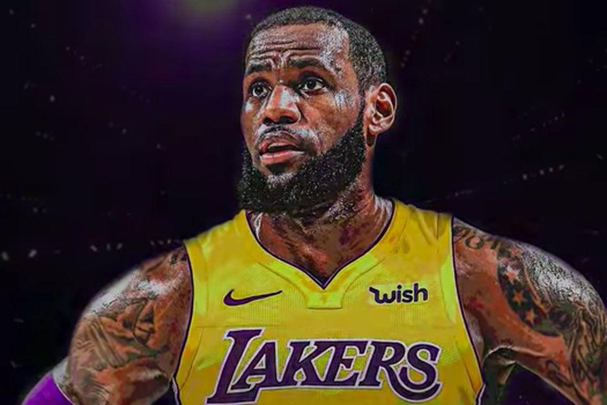 Lebron James Lakers Wallpapers