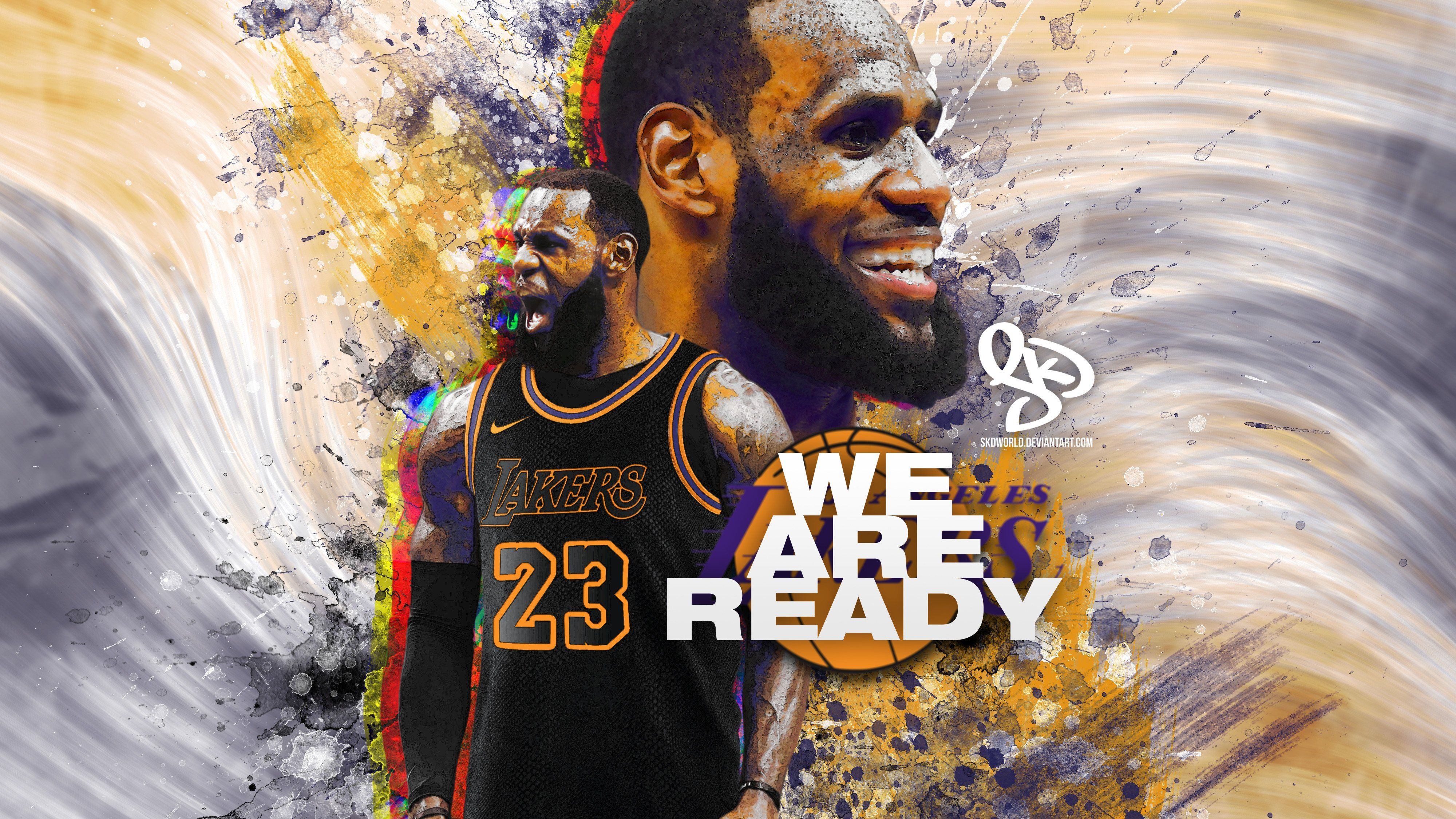 Lebron Lakers Wallpapers - Wallpaper Cave