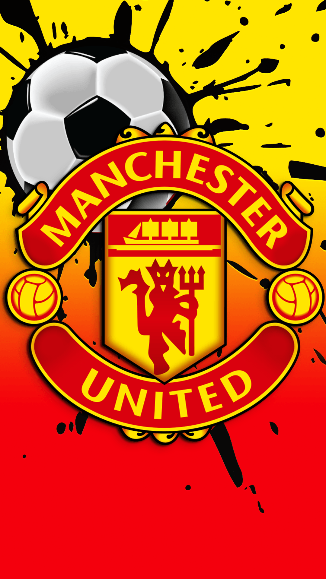 Manchester United Hd Mobile Wallpapers Wallpaper Cave