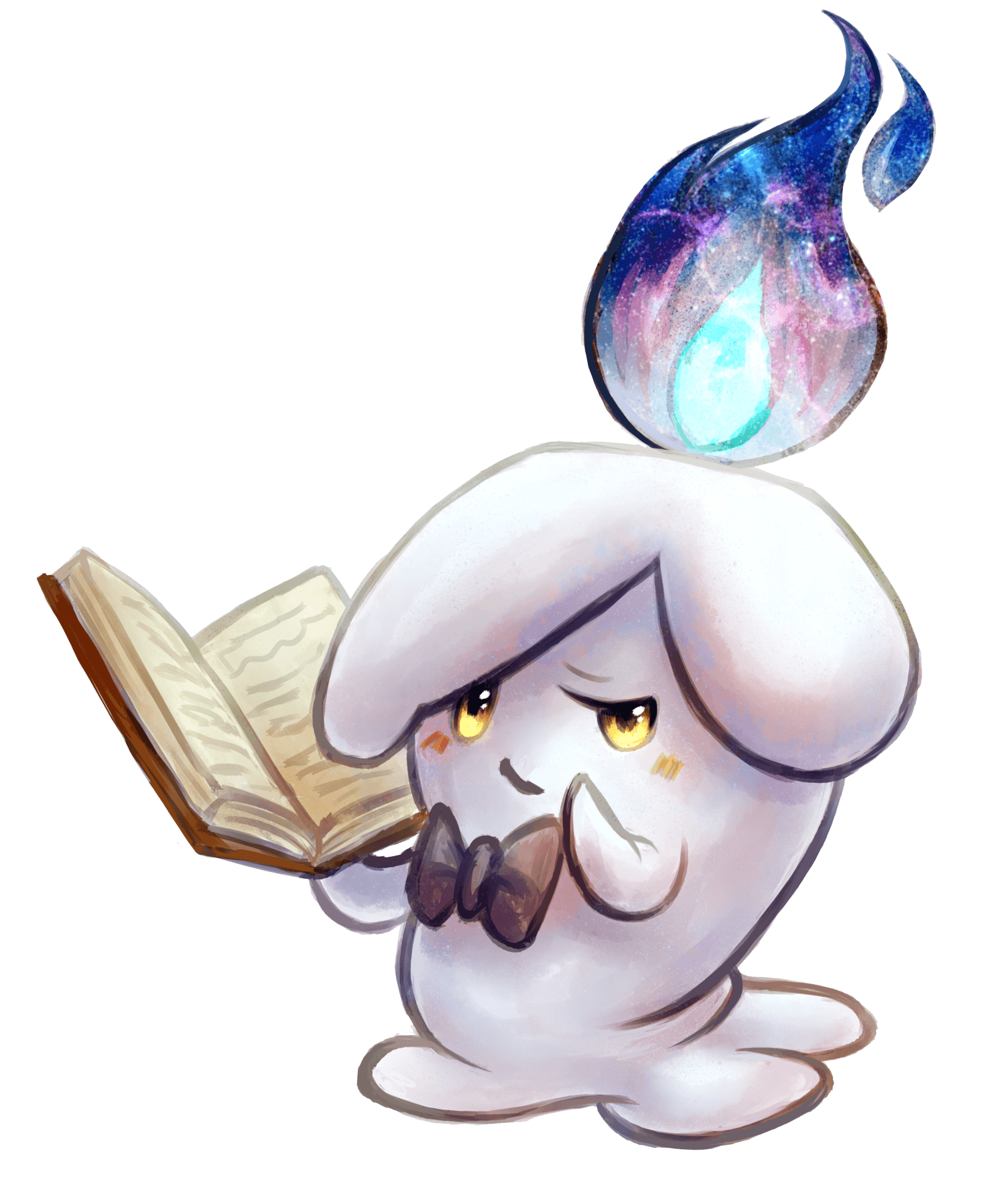 Lumiere the Litwick by Haychel on DeviantArt