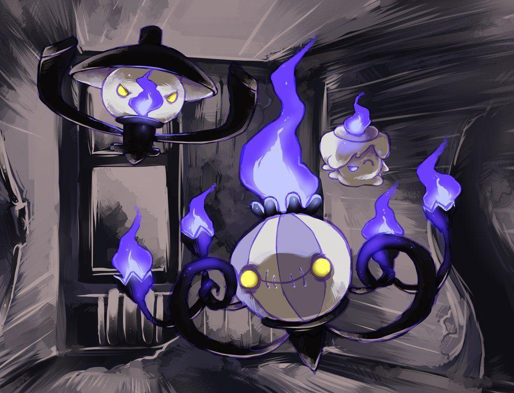 Litwick, Lampent, Chandelure (Pokemon) | Extremely Fun and ...