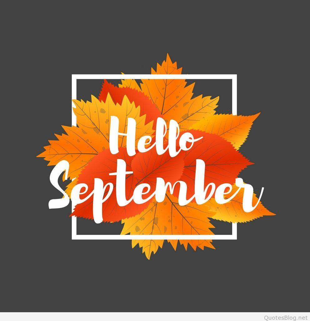 Hello September Image, Wallpapers, Status, DP
