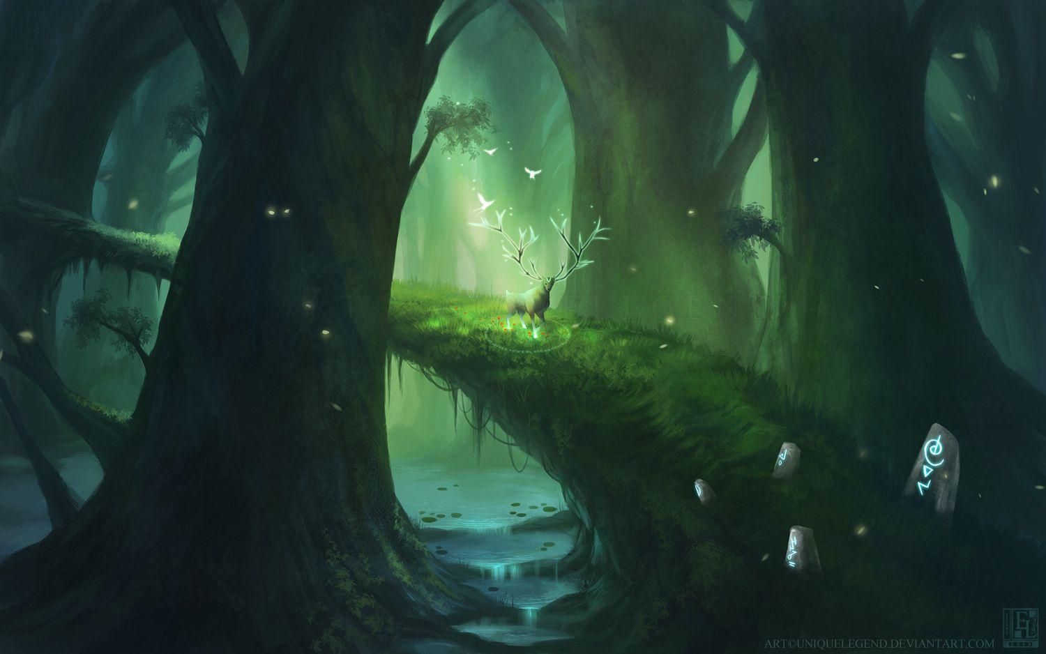 Princess Mononoke Tree Spirit Wallpapers Wallpaper Cave