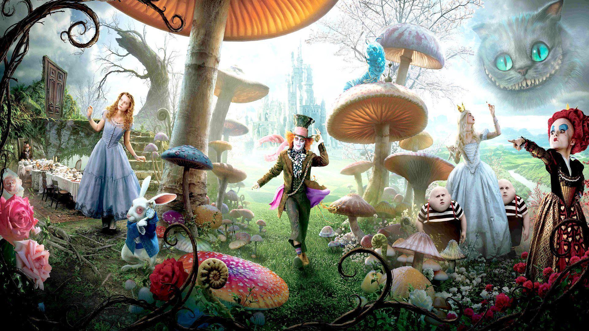 Alice In Wonderland Hd Wallpapers 1366x768 Wallpaper Cave