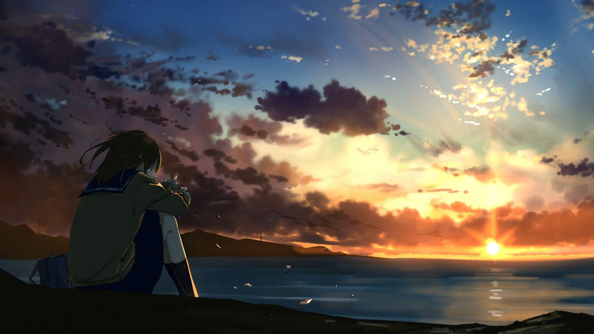 Lonely Anime Wallpapers - Wallpaper Cave