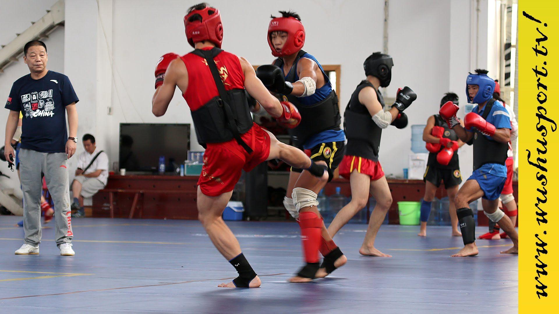 CHINA NATIONAL SANDA TRAINING The Best Of Wushu Sanshou