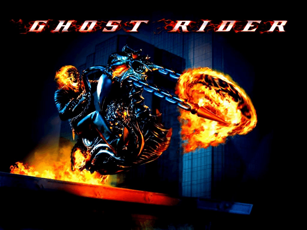 1024x768 Ghostrider comic cover desktop PC and Mac wallpapers