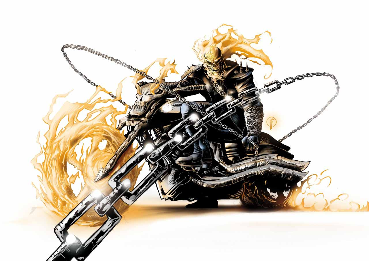 99 Ghost Rider Best 4K High Quality Desktop Wallpapers 2018