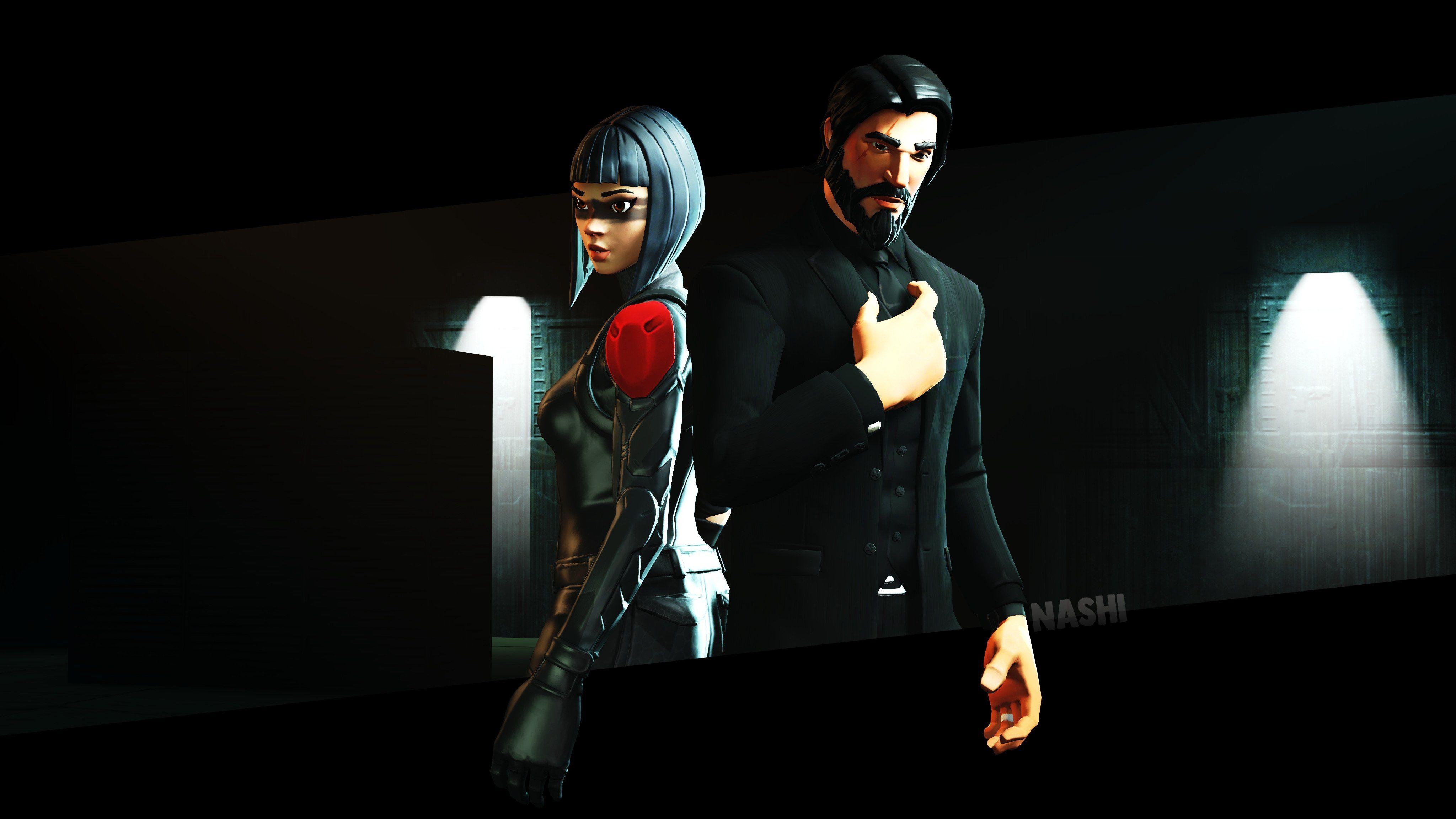 Fortnite John Wick & Shadow Ops By Mrsnashi #4144 Wallpapers and ...