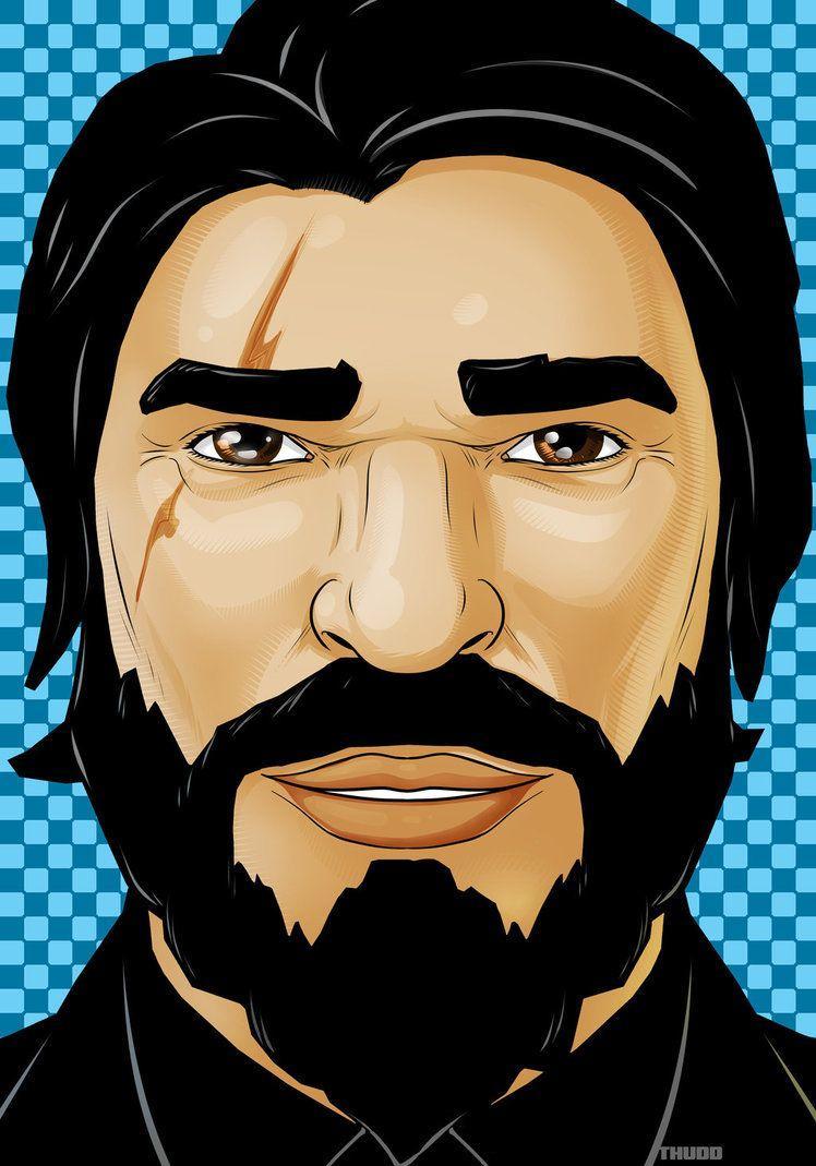 fortnite john wick by thuddleston on deviantart - how to draw john wick fortnite