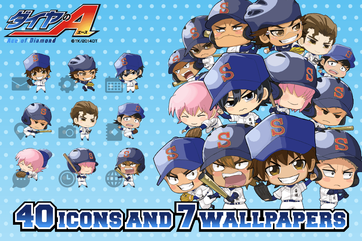 Ace Of Diamond Wallpapers Wallpaper Cave