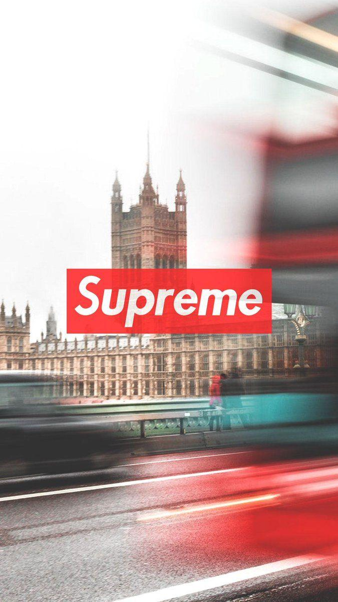 Hypebeast News on Twitter: Supreme phone wallpapers found on