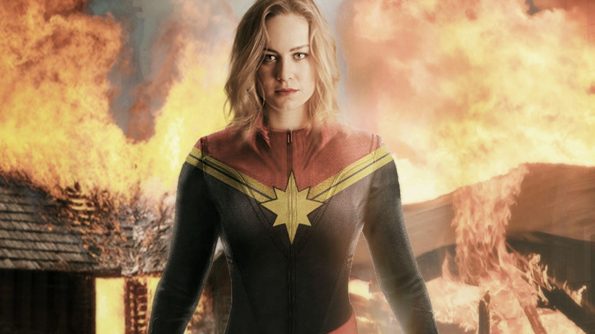 Captain Marvel Brie Larson Wallpapers Wallpaper Cave