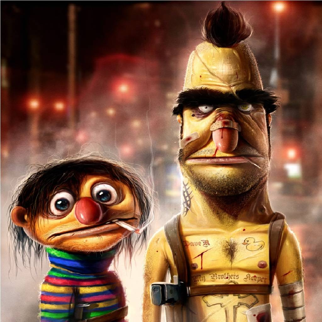 Bert And Ernie Wallpapers