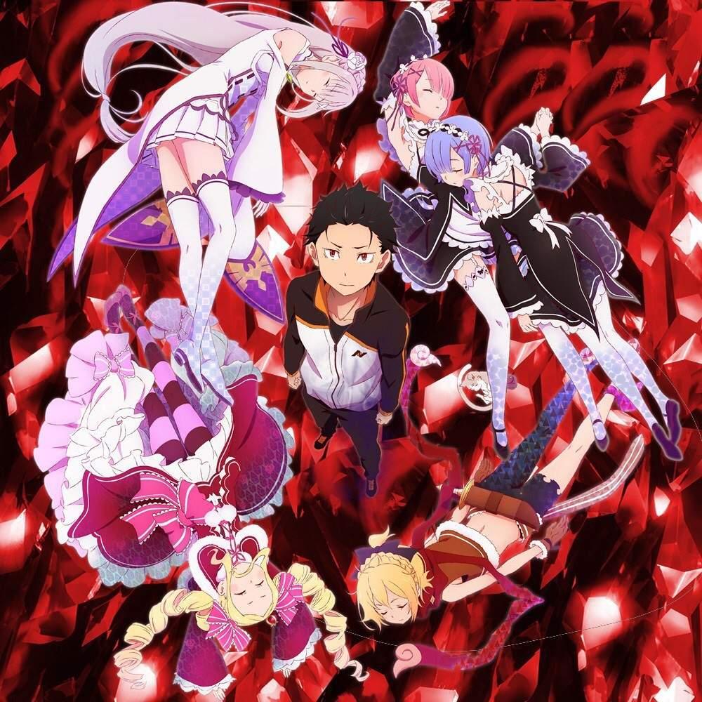 Anime Re Zero Wallpapers Wallpaper Cave