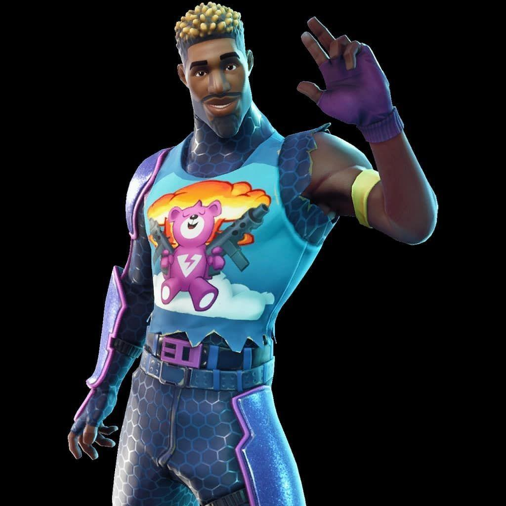 Another new skin found in the fortnite v3.6 called Brite gunner We