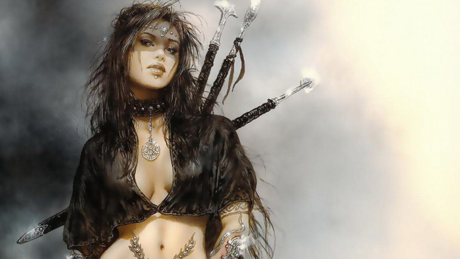 Luis royo wallpapers wallpaper cave - Fantasy female warrior artwork ...