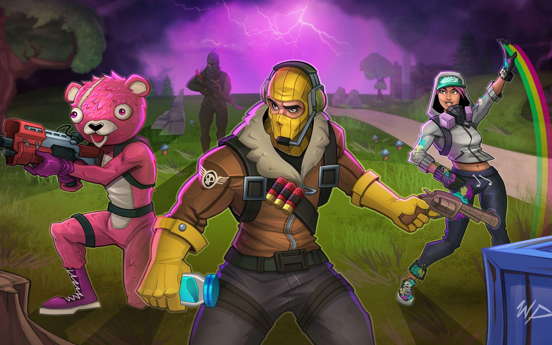 Download wallpapers Cuddle Team Leader, Raptor, Brite Bomber