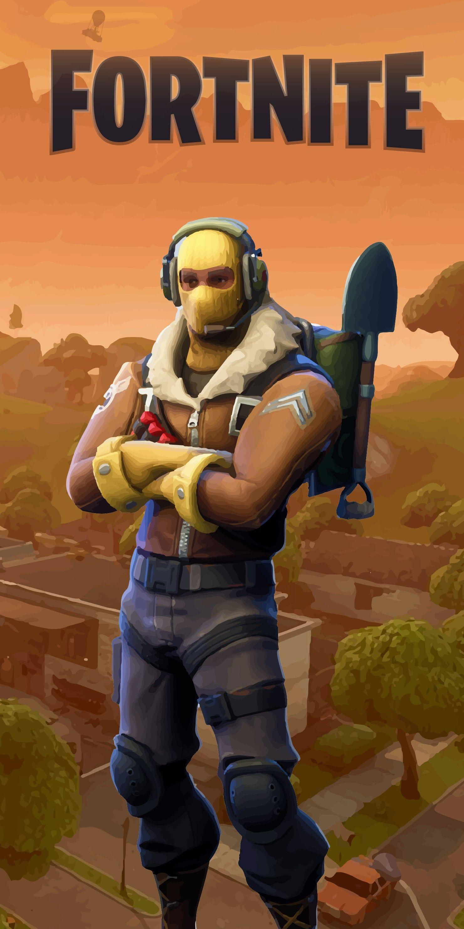 Fortnite Wallpapers for iPhone 8 Beautiful Raptor Phone Wallpapers