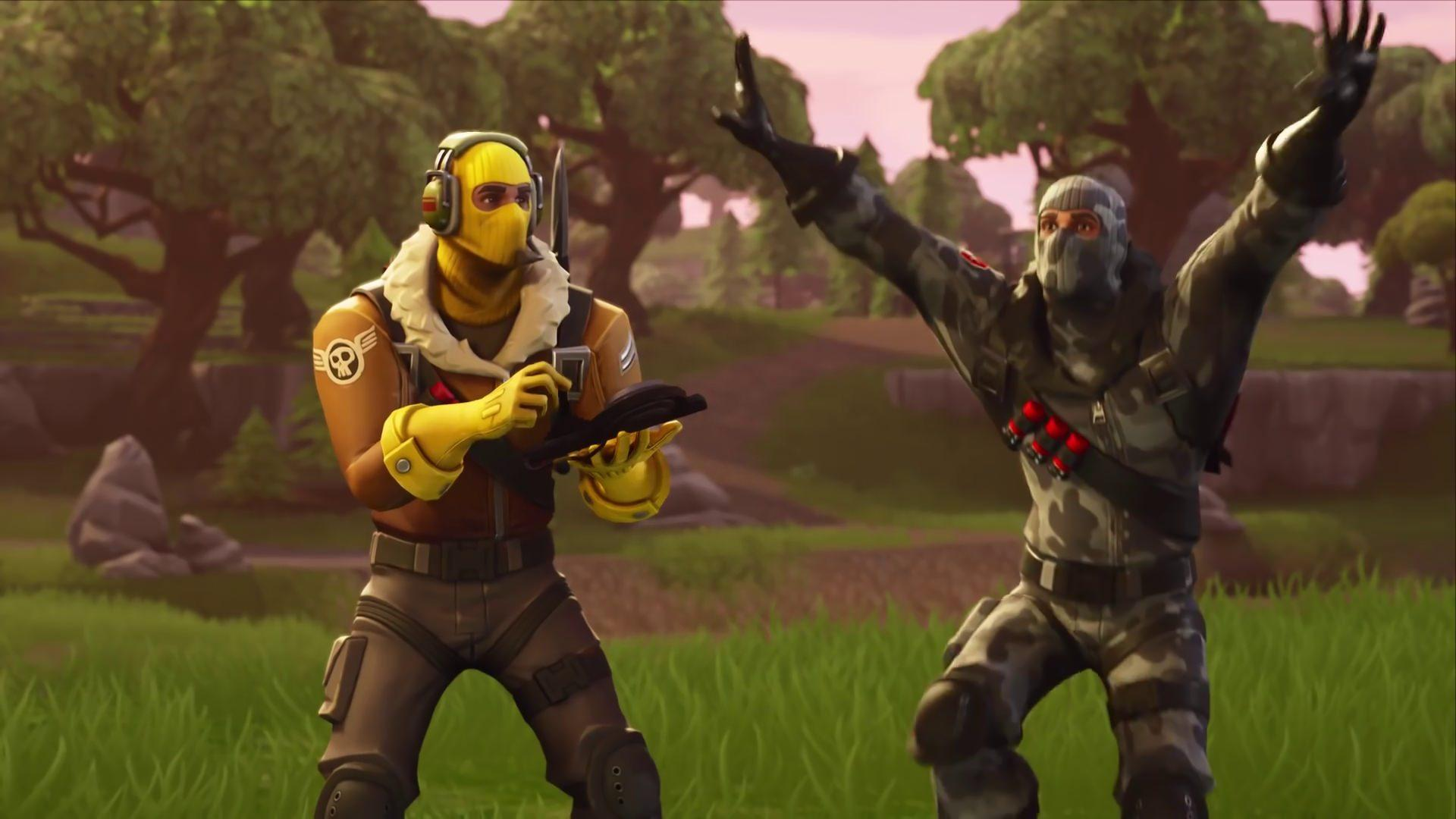 Fortnite Battle Royale Raptor and Havoc HD 1920x1080